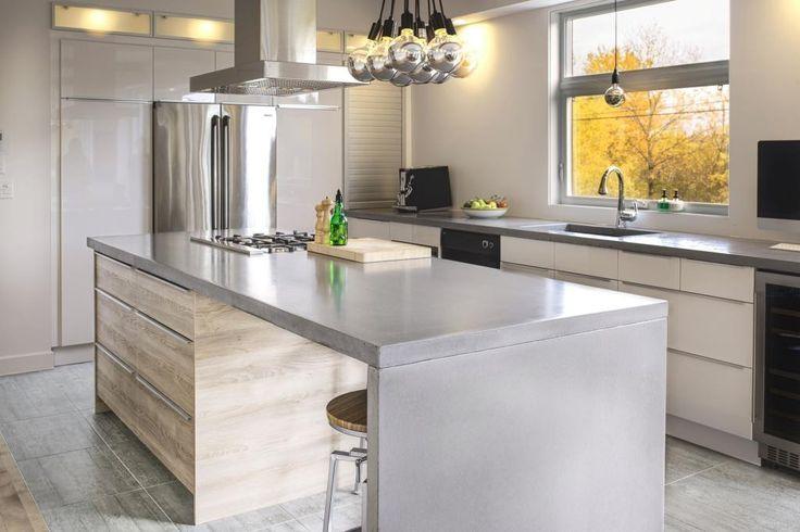 les 11 meilleures images du tableau comptoirs de b ton ciment sur pinterest architecture. Black Bedroom Furniture Sets. Home Design Ideas