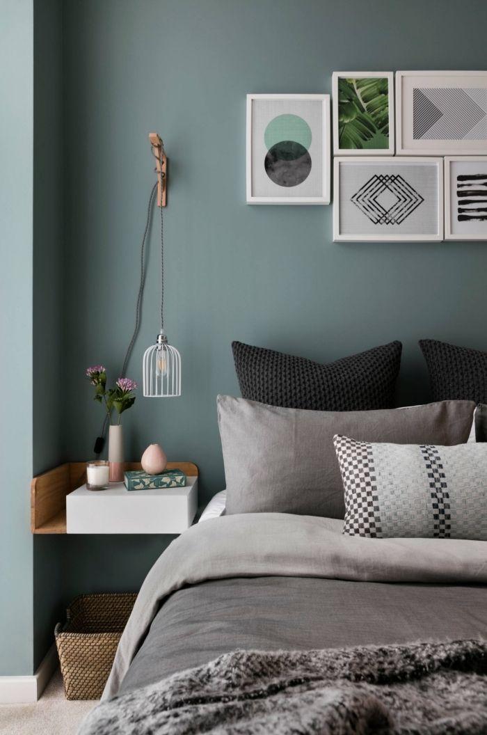 ▷ 1001 + tendances clés pour la peinture chambre adulte moderne en 2019