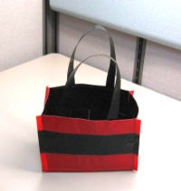 Duct Tape Totes (for those who already made the duct tape wallet!)