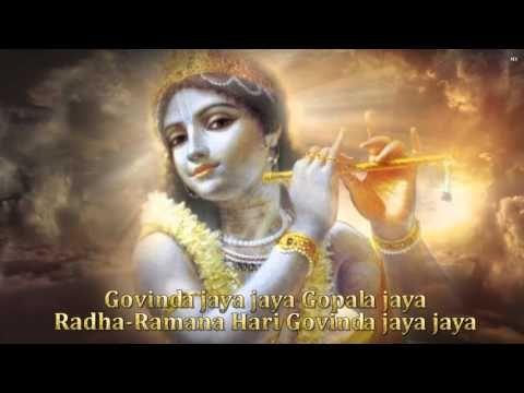 """♥ MANTRA Trae la alegría, la felicidad, la prosperidad, el dinero, la riqueza y el bienestar de la familia. - """" Govinda jaya jaya Gopala jaya , Radha-Ramana Hari Govinda jaya jaya """""""