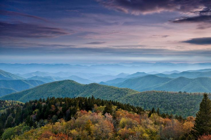 Fine Art Photography, Blue Ridge Mountains, Mountain Photography, North Carolina, Sunset, Home Decor, Wall Art, Blue Ridge Mountains Dreams by VisionLightPhoto on Etsy