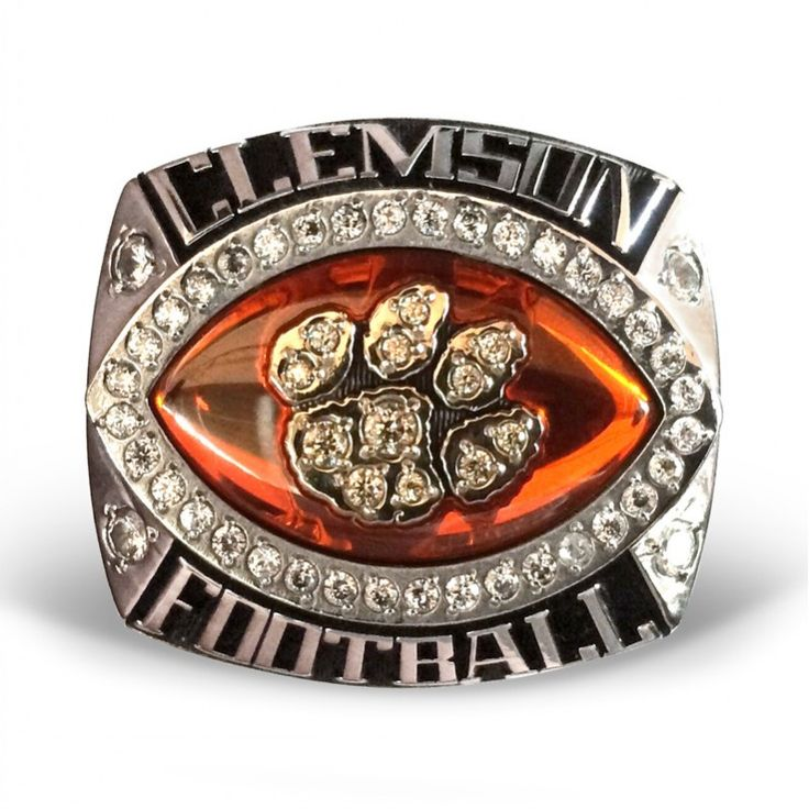 championship football clemson choose national ring for rings acc tigers watson item