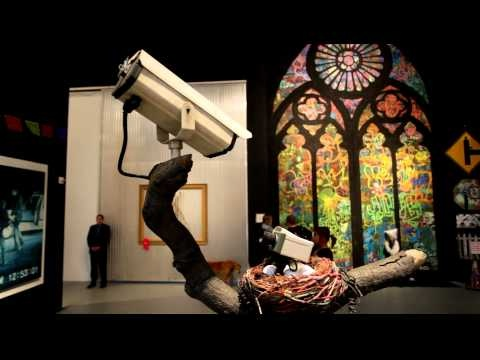 Banksy's Installation at Art in the Streets @ MOCA Geffen in Los Angeles