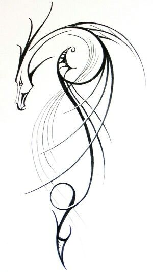 Thinking about getting a dragon tattoo made up of thin wisps. Uploading this as a reference