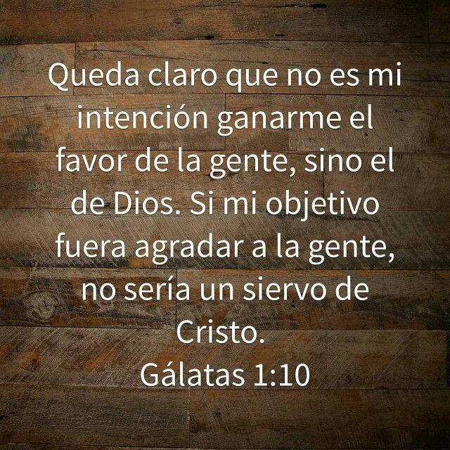 Galatas 1:10 /BIBLIA