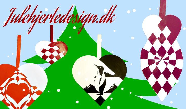 Galleri | Julehjertedesign.dk: flotte, unikke, avancerede og finurlige julehjerter til kreativ pynt til jul. Traditional Danish Christmas hearts for unique home-crafted ornaments.