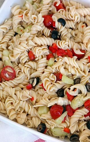 Skinny Pasta Salad - would be great with grilled chicken