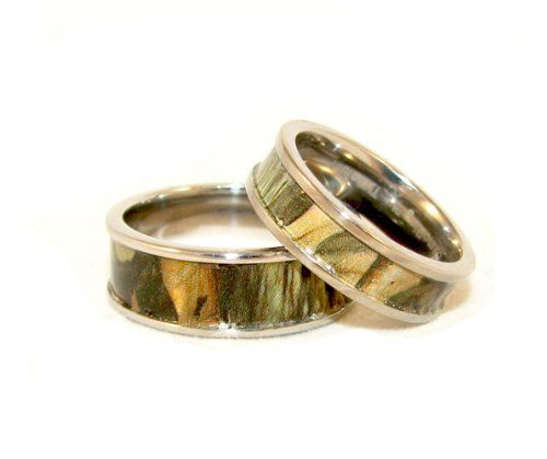 Great  best wedding band sets images on Pinterest Wedding stuff Camo rings and Camo wedding rings