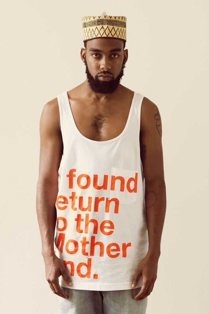 @blkkangaroo #iffound #motherland tees and vests  Gotta love!