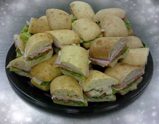 One of our Delicious Sandwich Platters!