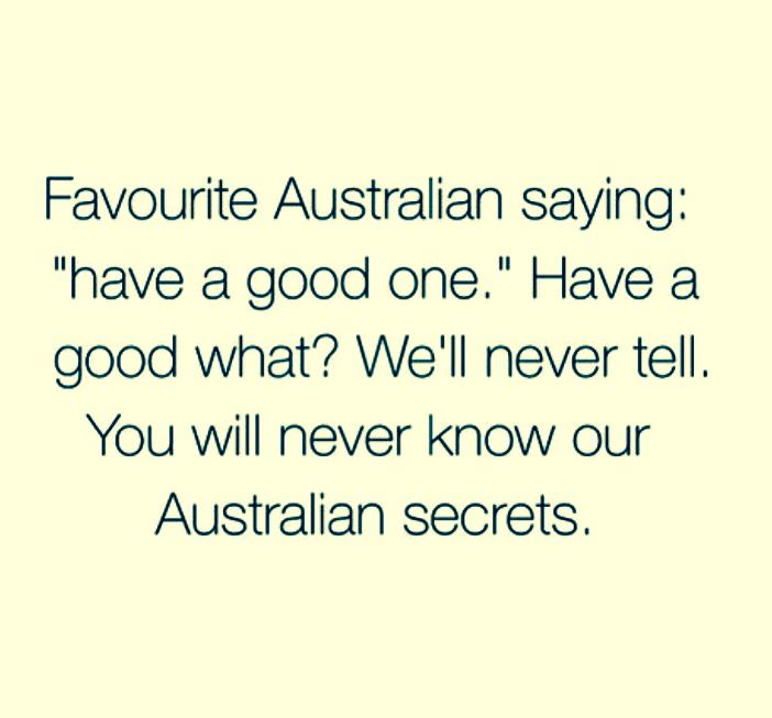 Common Aussie Slang Words