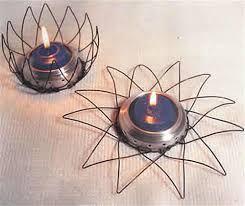 Resultado de imagen para como hacer un candelabro de alambre