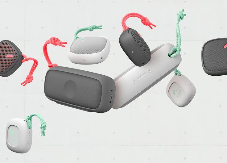 NudeAudio Bluetooth Speakers #industrialdesign #cmf