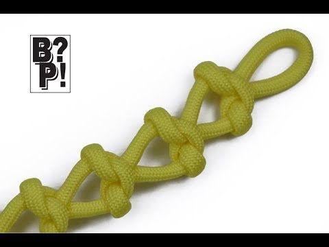 How to weave the Stingray Paracord Bracelet - YouTube