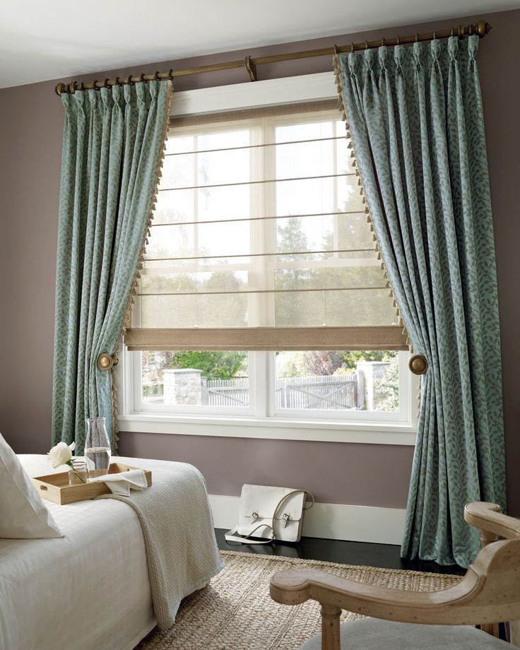 17 best images about roman shades on pinterest bay for Roman shades for bay windows