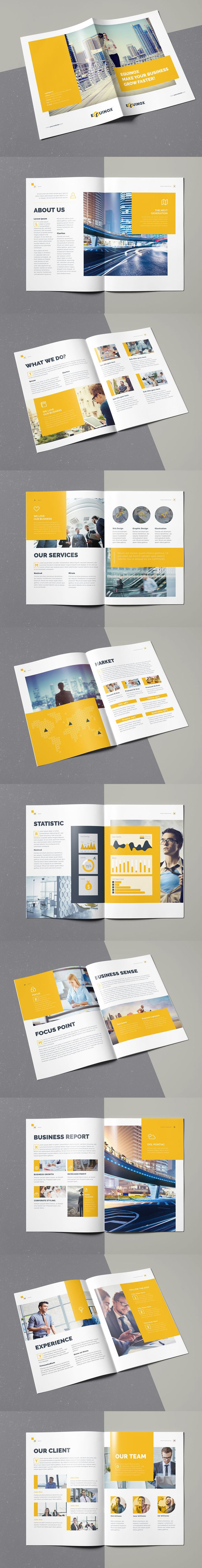 Corporate Brochure Template INDD - Unlimited Downloads