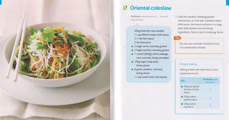 Oriental Coleslaw | Weight Watchers | 4 ProPoints