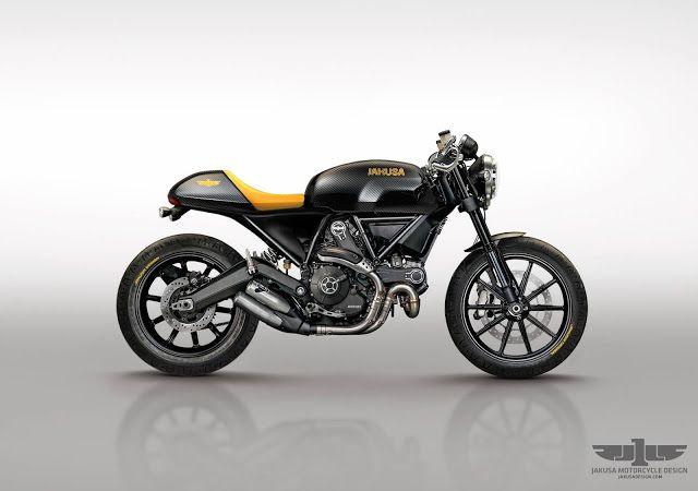 Cafe Racer Pasión — Ducati Scrambler Cafe Racer - Jakusa Design |...