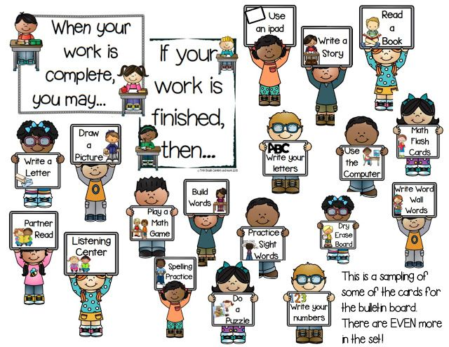 What Do I Do Now?  Strategies for Early Finishers