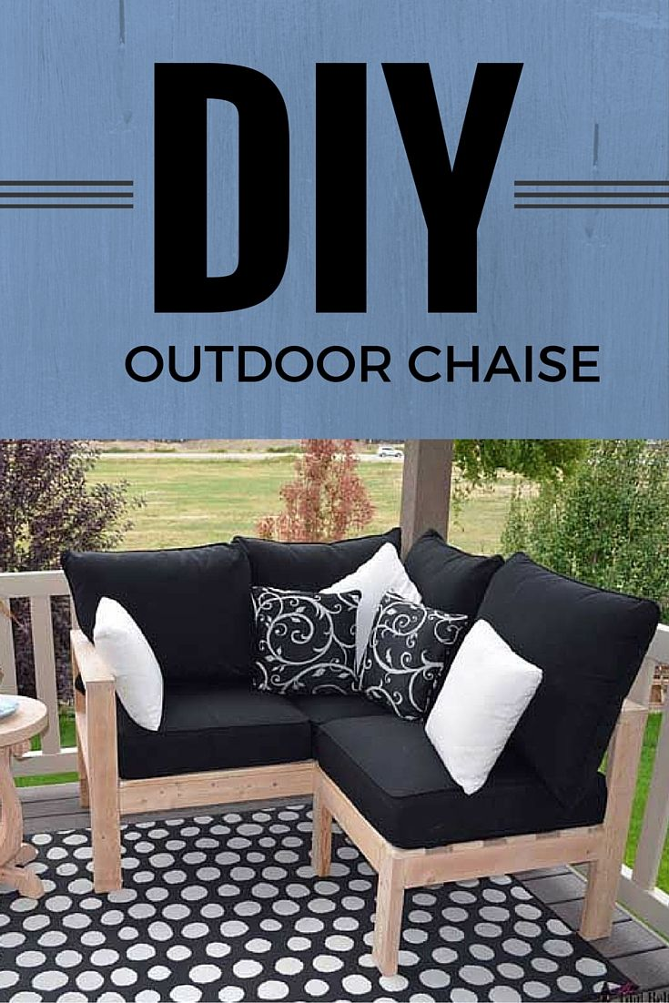 Diy outdoor chaise lounge decks belt and tool belt for Build your own chaise lounge
