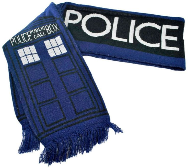 Doctor Who: TARDIS Scarf