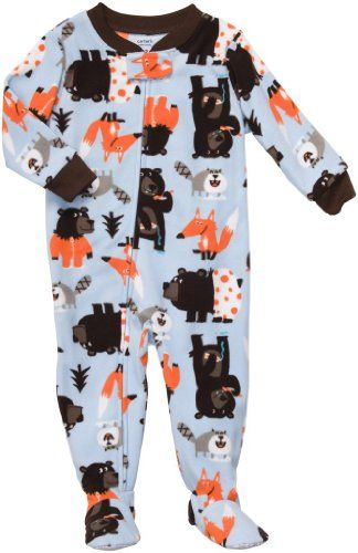 Carter's Boys Fleece Footed Blanket Sleeper Pajamas « Clothing Impulse