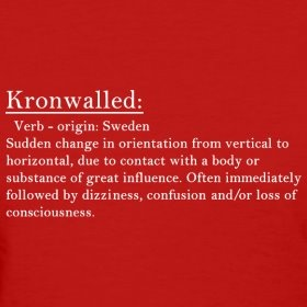 And Kronwall does it well!