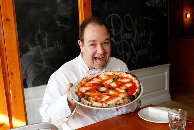 Rocco Agostino is a Toronto chef who specializes in Italian food at Pizza Libretto.