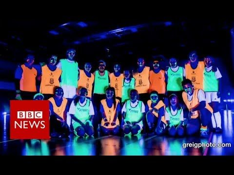 (1) Ever played football in the dark? - BBC News - YouTube