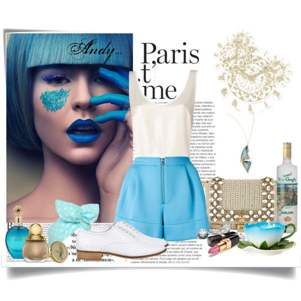 """""""Summer blue.."""" by andyts on Polyvore"""
