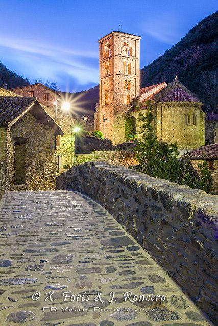 Beget village, Girona, Spain