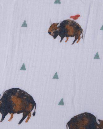 Bison crib sheet