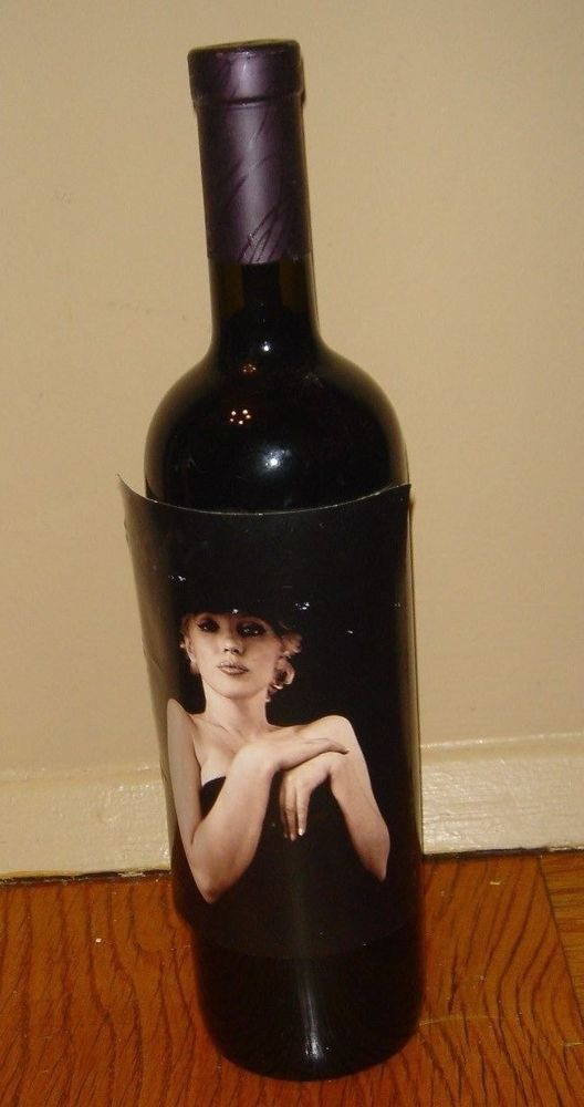1996 Marilyn Monroe Merlot Full Sealed Collectable 750 Bottle Napa Red Wine  #REDWINE
