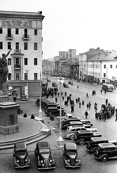 Old Pictures of Soviet Moscow | English Russia | Page 66