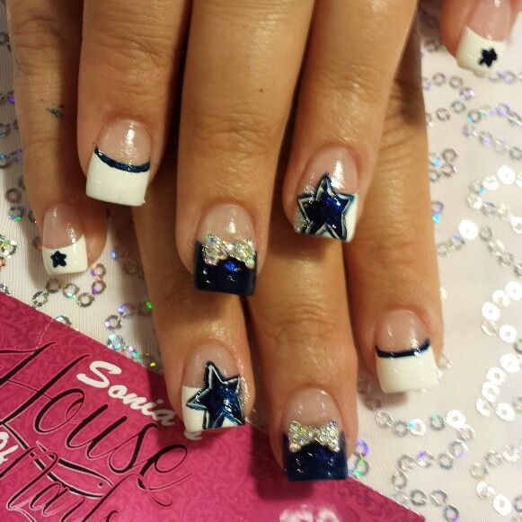 211 best nail art images on pinterest nail art nail art tips cowboys nail art prinsesfo Image collections