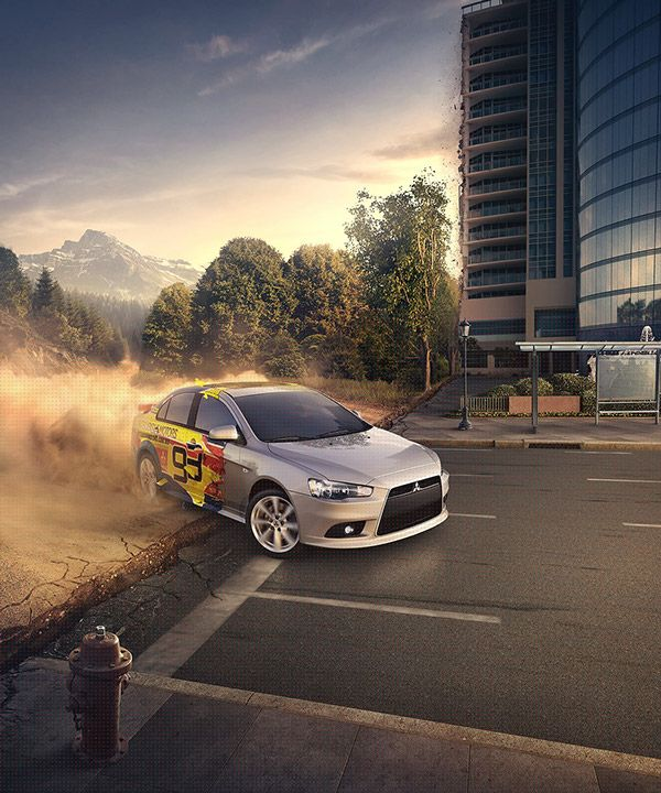 Mitsubishi – Lancer 2014 on Behance