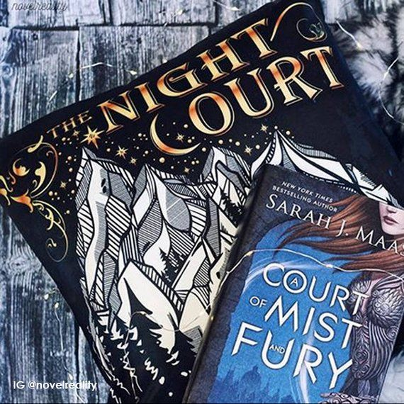 Night Court Pillow Cover A Court Of Mist And Fury Pillow Case