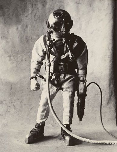 Deep Sea Diver (Small Trades)  Irving Penn    dodoestudio.com