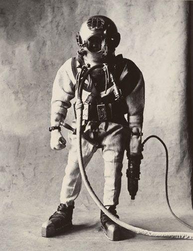 Deep Sea Diver (Small Trades)  Irving Penn    dodoestudio.com