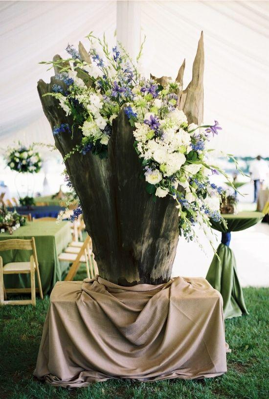 Driftwood centerpieces wedding centerpiece