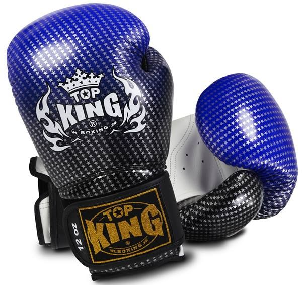 """Top King Blue Boxing Gloves """"Super Competition"""" available from http://www.topking.eu"""