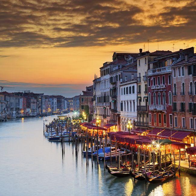 Самые романтические места Европы для отпуска. Венеция, Венето, Италия