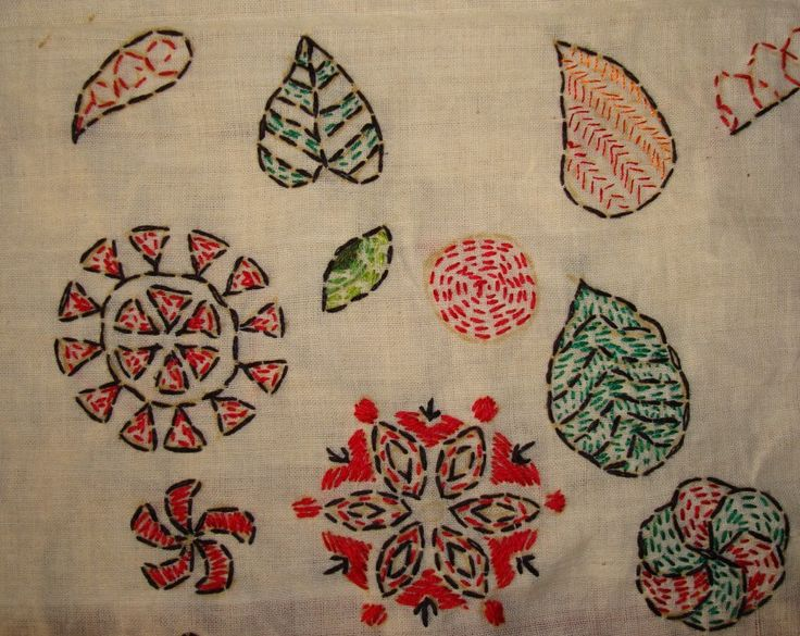 Images about kantha work on pinterest