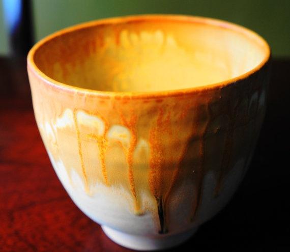Medium Decorative Glazed Bowl by kthompson5 on Etsy, $30.00
