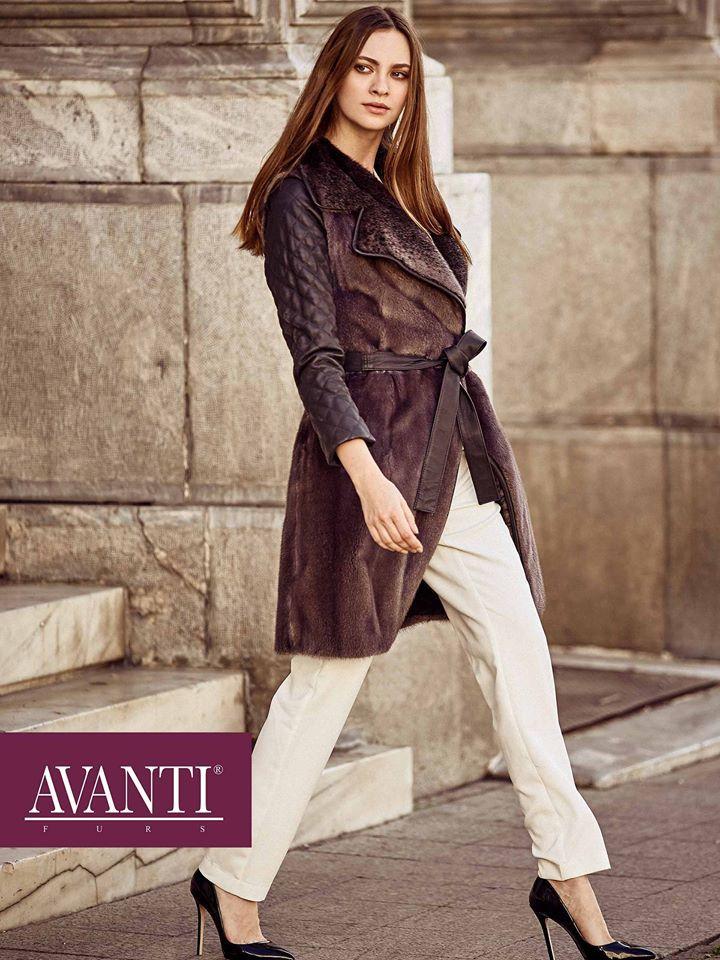 AVANTI FURS - MODEL:ARTEMISIA 3Z2 MINK JACKET with Leather details   #avantifurs #fur #fashion #mink #luxury #musthave #мех #шуба #стиль #норка #зима #красота #мода #topfurexperts