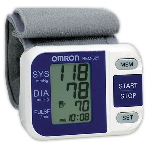 Omron HEM 629 Auto Inflate Wrist Blood Pressure Monitor at http://suliaszone.com/omron-hem-629-auto-inflate-wrist-blood-pressure-monitor/