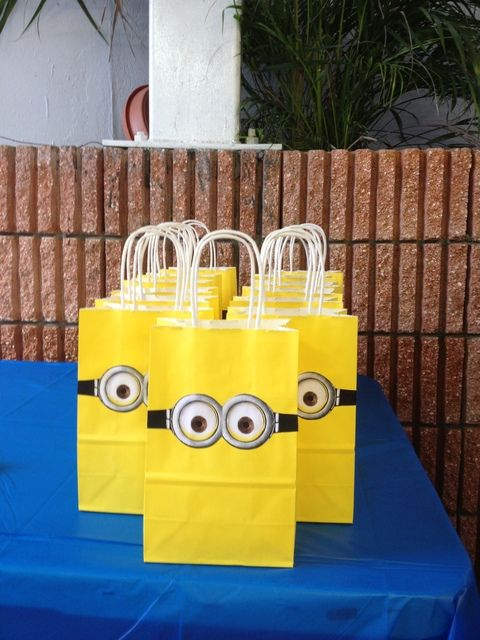 Despicable Me Birthday Party Ideas | Photo 5 of 24 | Catch My Party