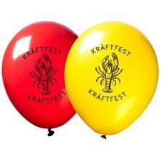 Latexballonger Kräftfest 12-pack