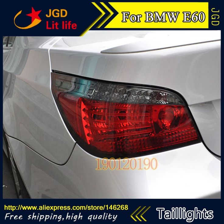 370.50$  Buy here - http://alij09.worldwells.pw/go.php?t=32778249301 - tail lights for BMW E60 520i 523li 525i 528i 2004-2010 LED taillight Tail Lamp rear trunk lamp cover drl+signal+brake+reverse 370.50$