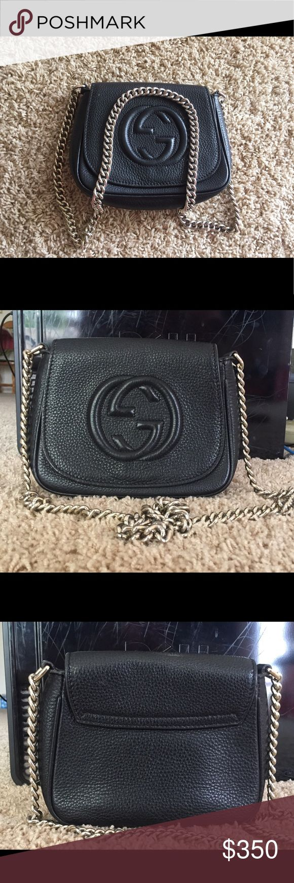 Gucci bag High quality bag 👝 geniune leather , good condition 👛👍🏻The price reflects Gucci Bags Crossbody Bags